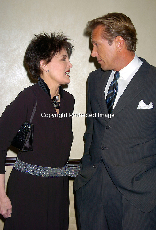 Linda Dano and  Walt Willey ..at HeartShare 's Annual Spring Gala on March 24, 2004 at the Marriott Marquis in New York City...Photo by Robin Platzer, Twin Images