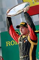 MELBOURNE, AUSTRALIA, 17 MARÇO 2013 - F1 - GP DA AUSTRALIA - O piloto filandes Kimi Raeikkoenen , da Lotus durante o GP da Austrália, em Albert Park, Melbourne, neste domingo (17). (FOTO: PIXATHLON / BRAZIL PHOTO PRESS).