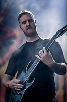 Thy Art Is Murder p&aring; Pand&aelig;monium.  Copenhell 2018 p&aring; Refshale&oslash;en i K&oslash;benhavn. Fire dage med rock, metal og dedikerede fans.<br /> <br /> Copenhell 2018 on Refshale Island in Copenhagen. Four days of rock, metal and dedicated fans.<br /> <br /> Foto: Jens Panduro<br /> <br /> Copenhagen, Copenhell, musikfestival, festival, musik, rockmusik, metal, hardcore, thrashmetal, punk, punkrock, metalcore, Refshale&oslash;en, Reffen, koncerter, rockkoncerter., Music Festival, Music, Rock Music, Thrash Metal, Refshale Island, Concerts, Rock Concerts.