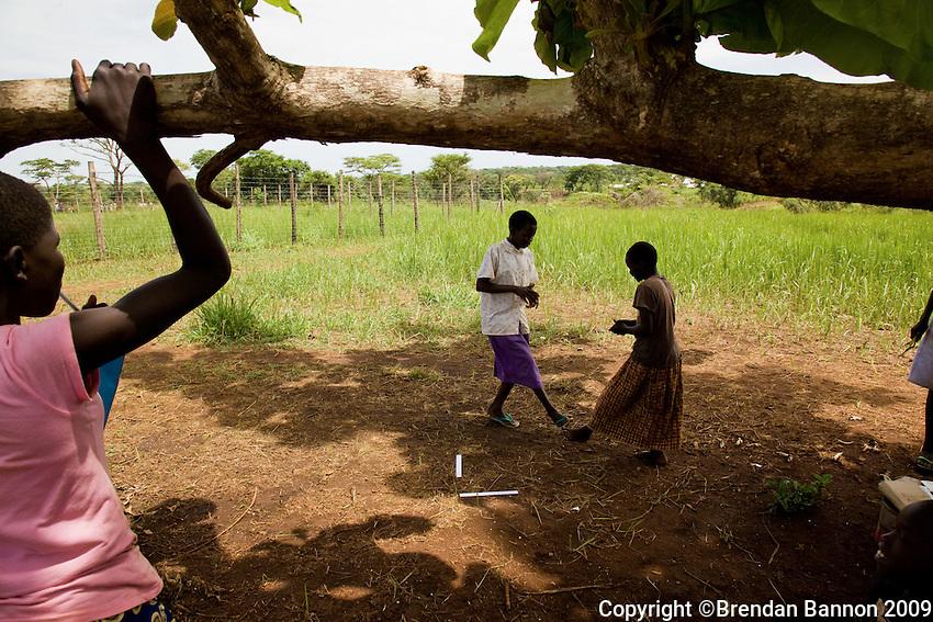 Children in Nyori refugee camp, South Sudan.