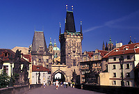 Prague, Charles Bridge, Czech Republic, Praha, Central Bohemia