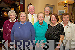 Enjoying the Glenbeigh active retired Christmas party in the Towers Hotel, Glenbeigh on Sunday were Sheila O'Connor, Noreen O'Riordan, John Quirke, Maureen Horan, Catherine McCrohan, Dan Foley and Bridie O'Sullivan.   Copyright Kerry's Eye 2008