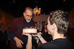 """Happy Birthday David M. Mead in the play Tartuffe - 1st preview January 13, 2011 of Moliere's """"Tartuffe"""" from Jan. 13 to Jan 29 at the WorkShop Theatre, New York City, New York. (Photo by Sue Coflin/Max Photos)"""