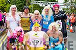 Loose Women at the Killarney Women's mini marathon on Saturday front row l-r: Sean Reidy Tralee, John O'Sullivan castleisland, Shane O'Connor Abbeyfeale. Back row: Tim Houlihan Banna, Philip Dewley Tralee, Damian Morrison Tralee and Mark Healy Killorglin