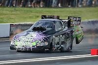 Jun. 2, 2012; Englishtown, NJ, USA: NHRA funny car driver Bob Bode during qualifying for the Supernationals at Raceway Park. Mandatory Credit: Mark J. Rebilas-