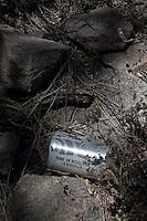 Sonora desert Mexico Arizona  illegal mexican immigrants Traces, objects let during the desert march<br /> Tracce, oggetti abbandonati durante la traversata del deserto da immigrati clandestini messicani nel tentativo di espatriare illegalmente negli Stati Uniti