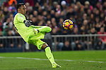 Real Madrid's Keylor Navas during the match of La Liga between Atletico de Madrid and Real Madrid at Vicente Calderon Stadium  in Madrid , Spain. November 19, 2016. (ALTERPHOTOS/Rodrigo Jimenez)