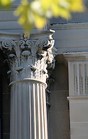Column and Decorative Work on Office Building