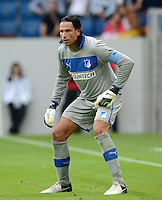FUSSBALL  1. BUNDESLIGA  SAISON 2012/2013  2. SPIELTAG    01.09.2012 TSG 1899 Hoffenheim  - Eintracht Frankfurt Torwart Tim Wiese (TSG 1899 Hoffenheim)