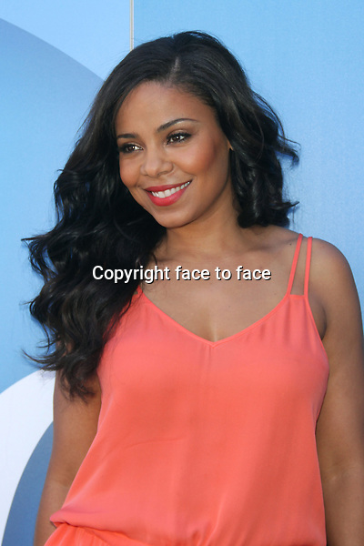 NEW YORK, NY- JUNE 19- Actress Sanaa Lathan attends the P&amp;G Beauty Box Event on 125th street and Lenox Avenue in New York City on June 19, 2013Credit: MediaPunch/face to face<br />