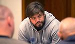 SOESTERBERG - Bondscoach Max Caldas tijdens het Technisch Kader congres 2015 olv Topcoach Koen Gonnissen. COPYRIGHT KOEN SUYK