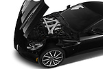 Car stock 2016 Astonmartin DB11 Base 2 Door Coupe engine high angle detail view