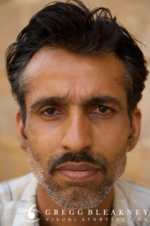 Day laborer -Jaisalmer, India