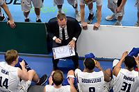 LEEUWARDEN - Basketbal, Donar - Estudiantes, Kalverdijkje, Champions League,  29-09-2017, time out Donar