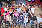 Key to the Door - Stephen M. O'Sullivan from Caherslee, seated centre having a ball with friends and family at his 21st birthday bash held in The Greyhound Bar on Saturday night........................................................................................................................................................................................................................................................................................... ............
