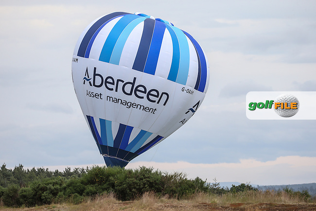 AAM Balloon during Round Three of the 2016 Aberdeen Asset Management Scottish Open, played at Castle Stuart Golf Club, Inverness, Scotland. 09/07/2016. Picture: David Lloyd | Golffile.<br /> <br /> All photos usage must carry mandatory copyright credit (&copy; Golffile | David Lloyd)