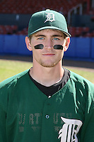 March 23, 2010:  Second Baseman Jeff Onstott of the Dartmouth Big Green after a game at the Chain of Lakes Stadium in Winter Haven, FL.  Photo By Mike Janes/Four Seam Images
