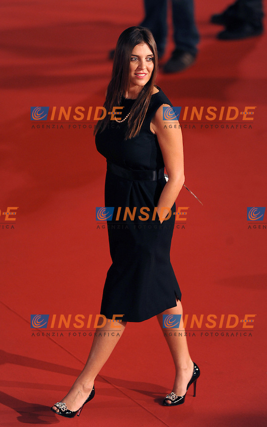 Gisella Marengo attends the Marc'Aurelio acting award red carpet during the 3rd Rome International film Festival held at the Auditorium Parco della Musica on October 22, 2008 in Rome Italy.<br /> Foto Andrea Staccioli Insidefoto