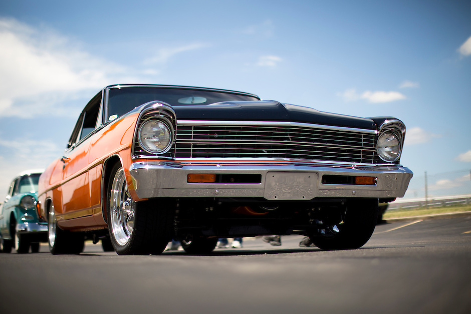 1967 Custom Chevy II Nova Junior (#126) – 1967 Chevrolet Nova registered to Troy Wilson is pictured during 4th State Representative Chevy Show on Thursday, June 30, 2016, in Fort Wayne, Indiana. (Photo by James Brosher)