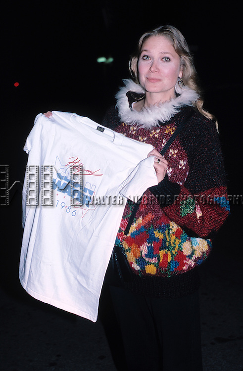 Deborah Raffin attending the Hollywood Clean Water Campaign in Los Ageles, September 1986