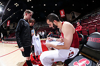 Stanford, CA - March 7, 2019: Stanford Men's Basketball final regular season game versus Cal at Maples Pavilion.  Cal won over Stanford 64-59.