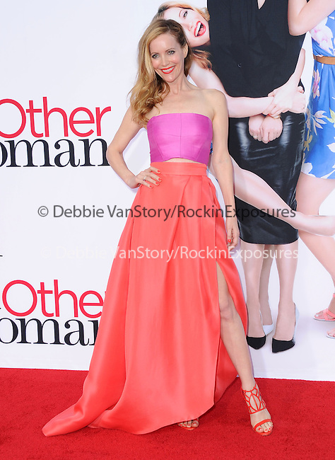 Leslie Mann attends The Twentieth Century Fox L.A. Premiere of Th eOther Woman held at The Regency Village Westwood in Westwood, California on April 21,2014                                                                               © 2014 Hollywood Press Agency