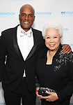 Kenny Leon and Joy Abbott attend the SDC Foundation presents The Mr. Abbott Award honoring Kenny Leon at ESPACE on March 27, 2017 in New York City.