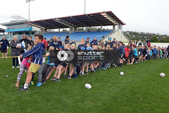NELSON, NEW ZEALAND - August 13: Meet The Makos Family Fun Day, August 13, 2017, Trafalgar Park, Nelson, New Zealand. (Photo by: Barry Whitnall Shuttersport Limited)