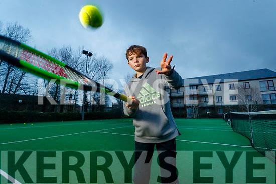 Tennis player David Walsh