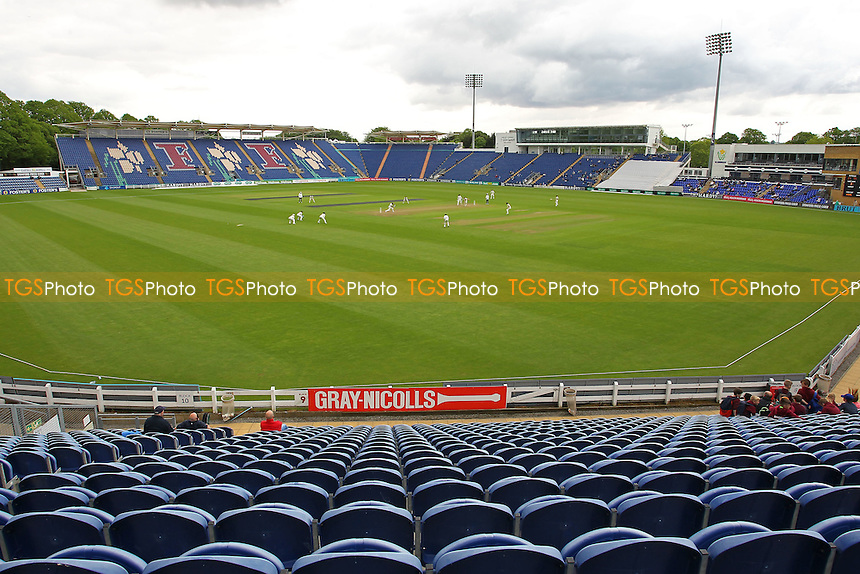 General view of play during Glamorgan CCC vs Essex CCC, Specsavers County Championship Division 2 Cricket at the SSE SWALEC Stadium on 23rd May 2016