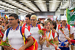 Spanish's paralympic arrive to Madrid Adolfo Suarez airport after the Paralympics of Rio 2016 . September 21, 2016. (ALTERPHOTOS/Rodrigo Jimenez)