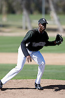 Jonathan Aristil - Colorado Rockies - 2009 spring training.Photo by:  Bill Mitchell/Four Seam Images