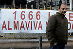 Le lavoratrici licenziate da Almaviva protestano alla Regione Lazio