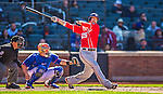 21 April 2013: Washington Nationals first baseman Adam LaRoche in action against the New York Mets at Citi Field in Flushing, NY. The Mets shut out the visiting Nationals 2-0, taking the rubber match of their 3-game weekend series. Mandatory Credit: Ed Wolfstein Photo *** RAW (NEF) Image File Available ***