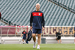 28 May 2010: Head coach Bob Bradley. The United States Men's National Team held a practice session at Lincoln Financial Field in Philadelphia, Pennsylvania the day before playing Turkey in their final home friendly prior to the 2010 FIFA World Cup in South Africa.