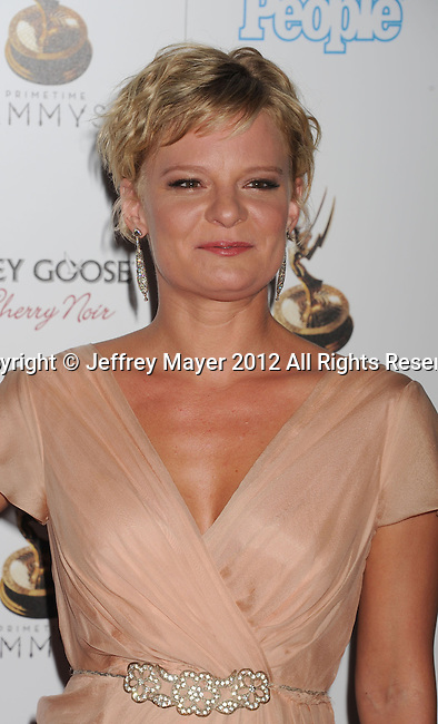 WEST HOLLYWOOD, CA - SEPTEMBER 21: Martha Plimpton attends the 64th Primetime Emmy Awards Performers Nominee reception held at Spectra by Wolfgang Puck at the Pacific Design Center on September 21, 2012 in West Hollywood, California.