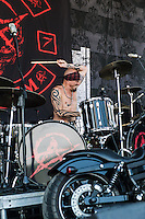 Attika 7 at Mayhem Fest 2013 in Atlanta, GA.