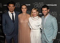 NEW YORK, NY - AUGUST 09: Destin Daniel, Brie Larson, Naomi Watts and Max Greenfield  attends 'The Glass Castle' New York Screening at SVA Theatre on August 9, 2017 in New York City. <br /> CAP/MPI/JP<br /> &copy;JP/MPI/Capital Pictures