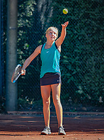 Hilversum, Netherlands, August 6, 2018, National Junior Championships, NJK, Jinte de Boer (NED)<br /> Photo: Tennisimages/Henk Koster