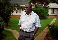 Leader of the Movement for Democratic Change (MDC) Morgan Tsvangirai at his home in Harare, 11 days before the 29 March 2008 General Elections...