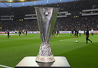 Pokal der UEFA Europa League - 02.05.2019: Eintracht Frankfurt vs. Chelsea FC London, UEFA Europa League, Halbfinale Hinspiel, Commerzbank Arena DISCLAIMER: DFL regulations prohibit any use of photographs as image sequences and/or quasi-video.