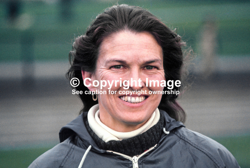 Maeve Kyle, Ballymena, Co Antrim, N Ireland, athlete, Olympics competitor, 11th May 1970, 197005110154a.<br />