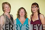 attending the ITT gala ball on saturday celebrating 30 years of ITT l-r: Mary Stritch, Aine Brosnan and Ann Hogan.   Copyright Kerry's Eye 2008