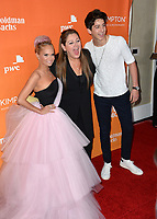 Kristin Chenoweth Camryn Manheim &amp; Milo Manheim at the 2017 TrevorLIVE LA Gala at the beverly Hilton Hotel, Beverly Hills, USA 03 Dec. 2017<br /> Picture: Paul Smith/Featureflash/SilverHub 0208 004 5359 sales@silverhubmedia.com