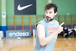 Sergio Llull during the training of Spanish National Team. August 21, 2019. (ALTERPHOTOS/Francis González)