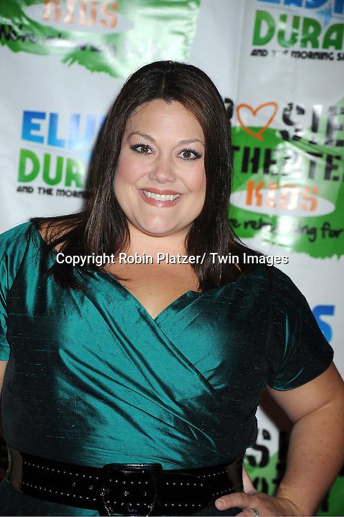 Brooke Elliott  attending The Rosie's Theatre Kids Gala on September 19, 2011 at The New York Marriott Marquis Hotel in New York City.
