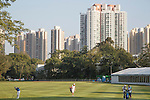 Danny Willett of England (left) plays an approach shot during the 58th UBS Hong Kong Golf Open as part of the European Tour on 10 December 2016, at the Hong Kong Golf Club, Fanling, Hong Kong, China. Photo by Vivek Prakash / Power Sport Images