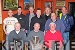 Firies Golf society who presented prizes in Sheahan's bar Firies on Saturday night front row l-r: Anthony Palmer, Richard Mulchinock, Con Mulchinock. Back row: David Laing, Anthony Payne, Jim O'Donoghue, Sean O'Grady Captain, Malcolm Fleming, Tom Farrelly and Brendan Murray