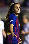 UEFA Women's Champions League 2018/2019.<br /> Quarter Finals.<br /> FC Barcelona vs LSK Kvinner FK: 3-0.<br /> Lieke Martens.