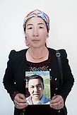 Aigul Orazakyl search for his relative Tamenuly Amnarkol who was detained in May 2018 with no reason. China, Tarbagatai region, the city of Shiku.